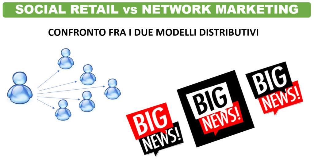 confronto fra social retail e network marketing